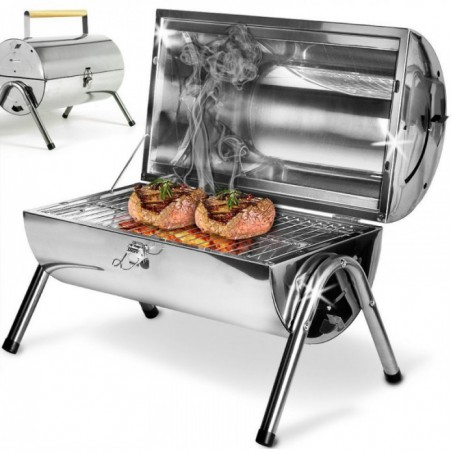 Barbecue Pliable et Portable Swiss Cook / Inox