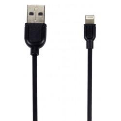 Câble Remax Souffle RC-031i USB vers Lightning / Noir
