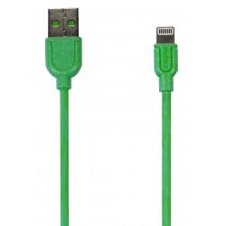 Câble Remax Souffle RC-031i USB vers Lightning / Vert
