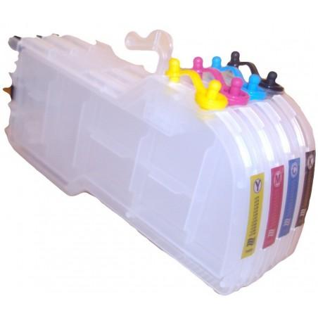Kit rechargeable pour Brother LC-1240 (sans encres)