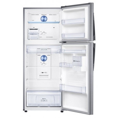 Réfrigérateur Samsung avec congélateur en haut Twin Cooling Plus 362L / Silver