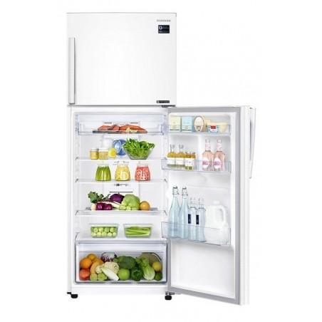 Réfrigérateur Samsung avec congélateur en haut Twin Cooling Plus 384L / Blanc
