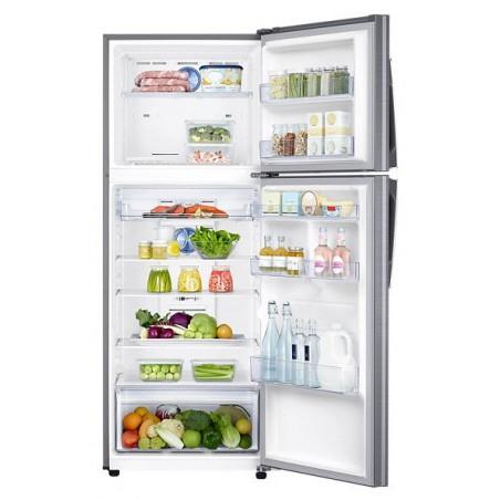 Réfrigérateur Samsung Twin Cooling Plus 440L avec Afficheur / Silver