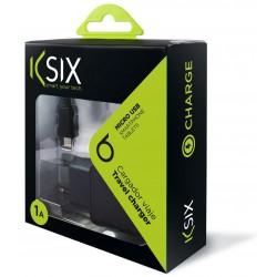 Chargeur Secteur Ksix Micro USB / Noir