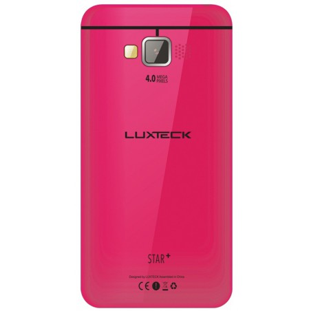 Téléphone Portable Luxteck Star+ / 3G / Double SIM / Gold + SIM Offerte