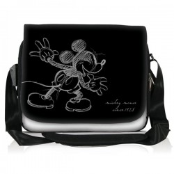 "Sacoche 15.6""Mickey Black"