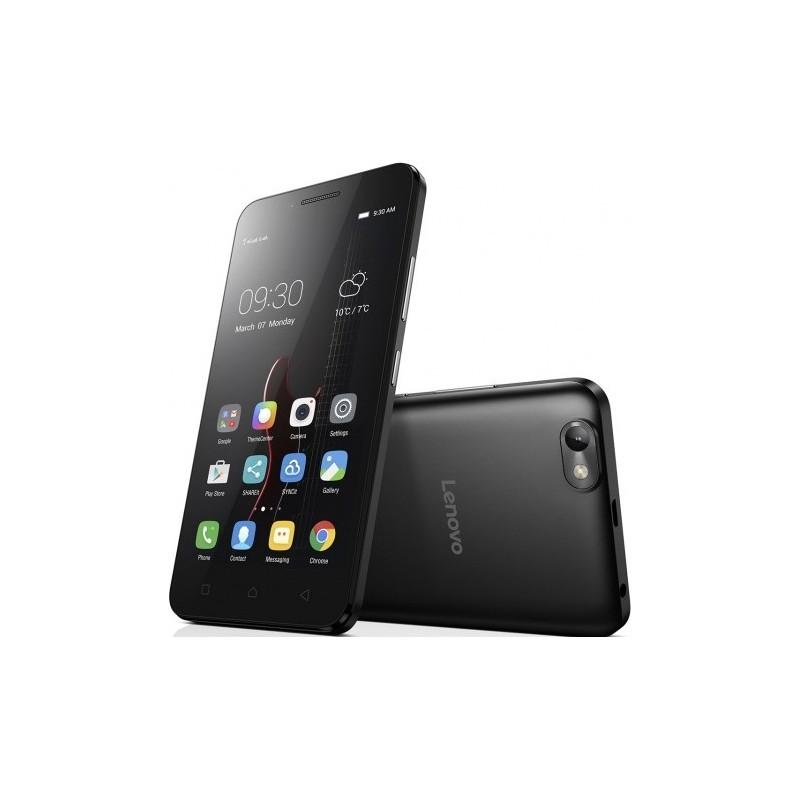 Téléphone Portable Lenovo Vibe C A2020 / 4G (LTE) / Double SIM / Noir + SIM Offerte