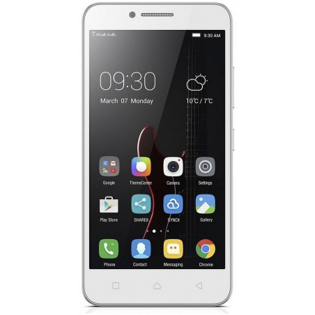 Téléphone Portable Lenovo A2020 / 4G (LTE) / Double SIM / Noir + SIM Offerte