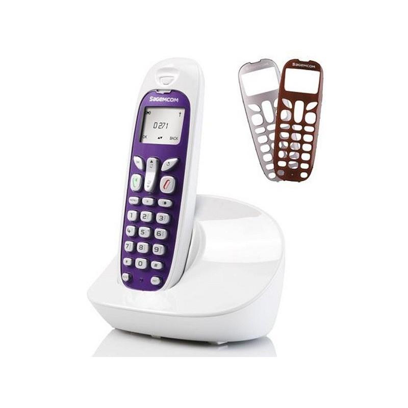 Téléphone sans fil Sagemcom D271 / Blanc