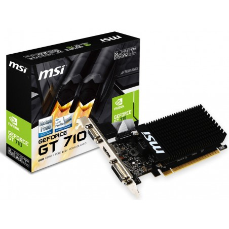 Carte graphique MSI GeForce GT 730  / 4 Go DDR3 N730-4GD3V2