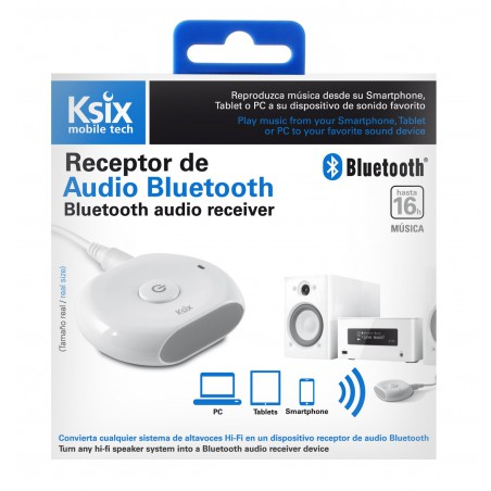 Récepteur Audio Bluetooth Ksix Bluear Connect & Play