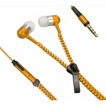 Ecouteurs Zipper avec Micro