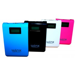 Power Bank Winx 5200mAh avec Afficheur / Blanc