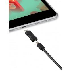 Adaptateur Ksix USB 2.0 vers USB 3.1 Type C