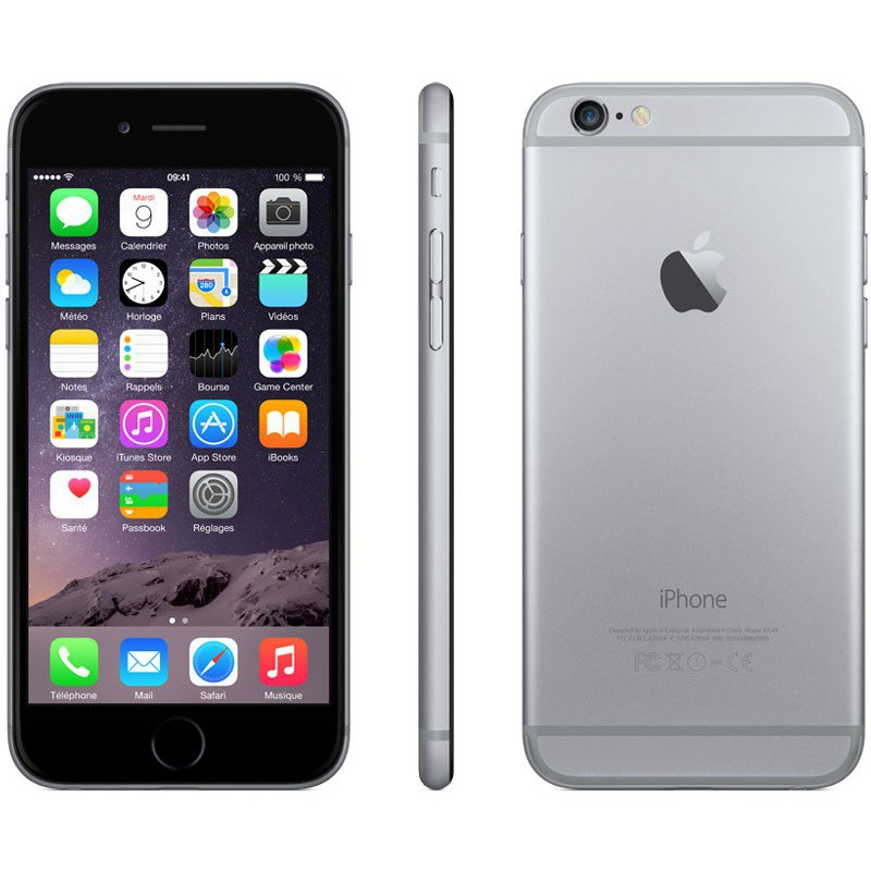 Téléphone portable Apple iPhone 6 / 128 Go / Gris Sidéral