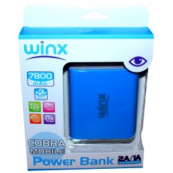 Power Bank Winx 7800 mAh / Blanc