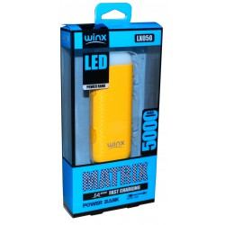 Power Bank Winx LX050 5000mAh / Blanc