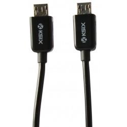 Câble Ksix OTG Micro USB vers Micro USB Mâle/Mâle