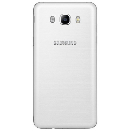 Téléphone Portable Samsung Galaxy J7 2016 / 4G / Double SIM / Blanc + SIM Offerte