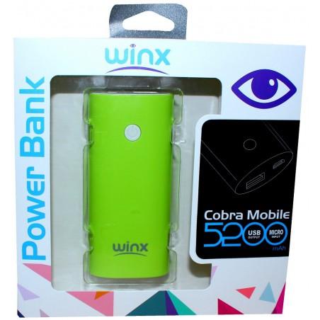 Power Bank Winx PB052 / 5200mAh / Rose