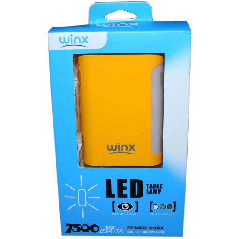 Power Bank Winx TL075 7500mAh / Jaune