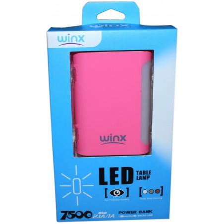 Power Bank Winx TL075 7500mAh / Noir