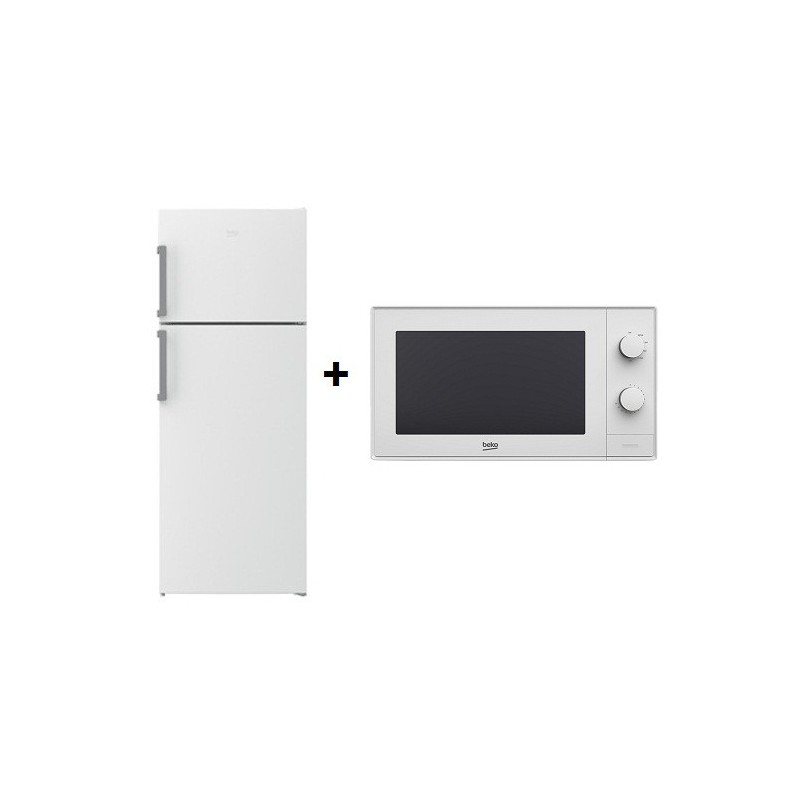 r frig rateur beko no frost 500l blanc micro ondes. Black Bedroom Furniture Sets. Home Design Ideas