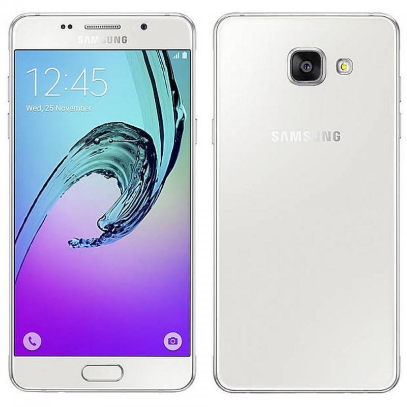 Téléphone Portable Samsung Galaxy A5 / Double SIM / 4G / Blanc + SIM Offerte