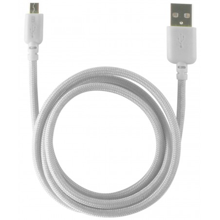 Câble Ksix USB vers Micro USB / Blanc