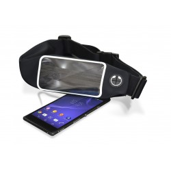 Etui Ceinture de sport pour Smartphone Ksix / Noir