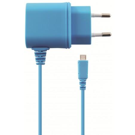 Chargeur Secteur Ksix Micro USB / Bleu