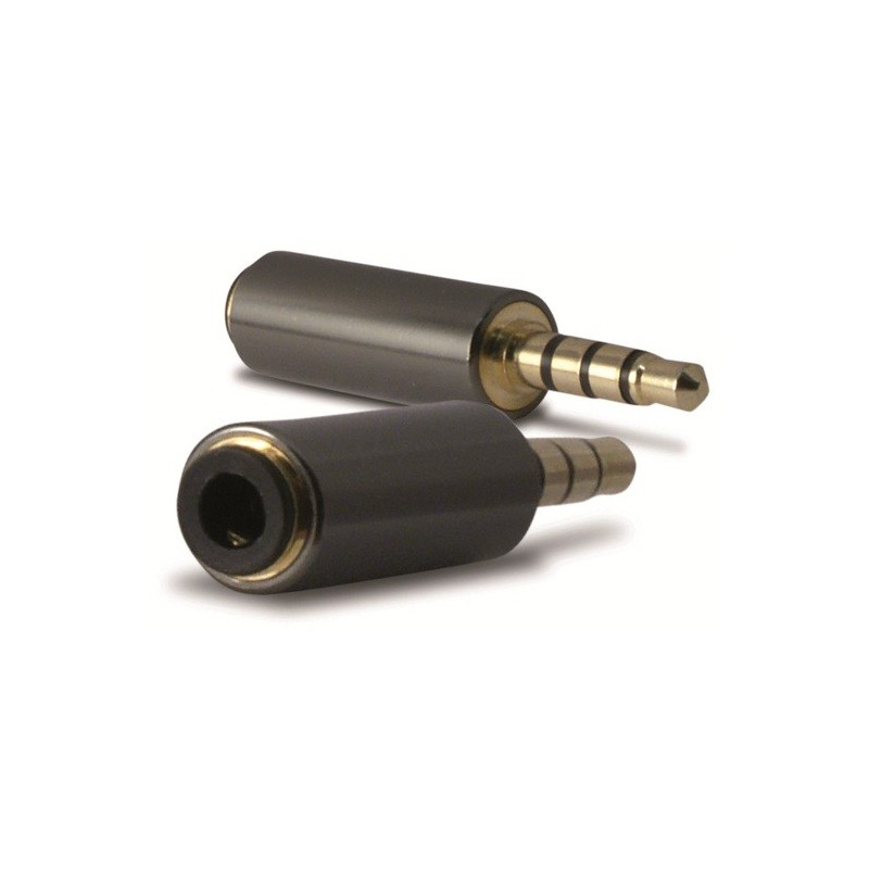 Adaptateur Audio 3.5mm Ksix Mâle / Femelle
