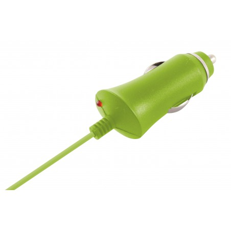 Chargeur Allume Cigare Ksix Micro USB 1A / Vert