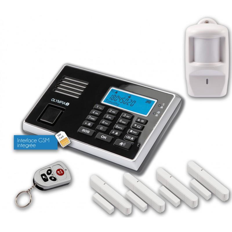 Pack Alarm: Kit Olympia 9061 + Sirène + Détecteur de Fuite d'eau
