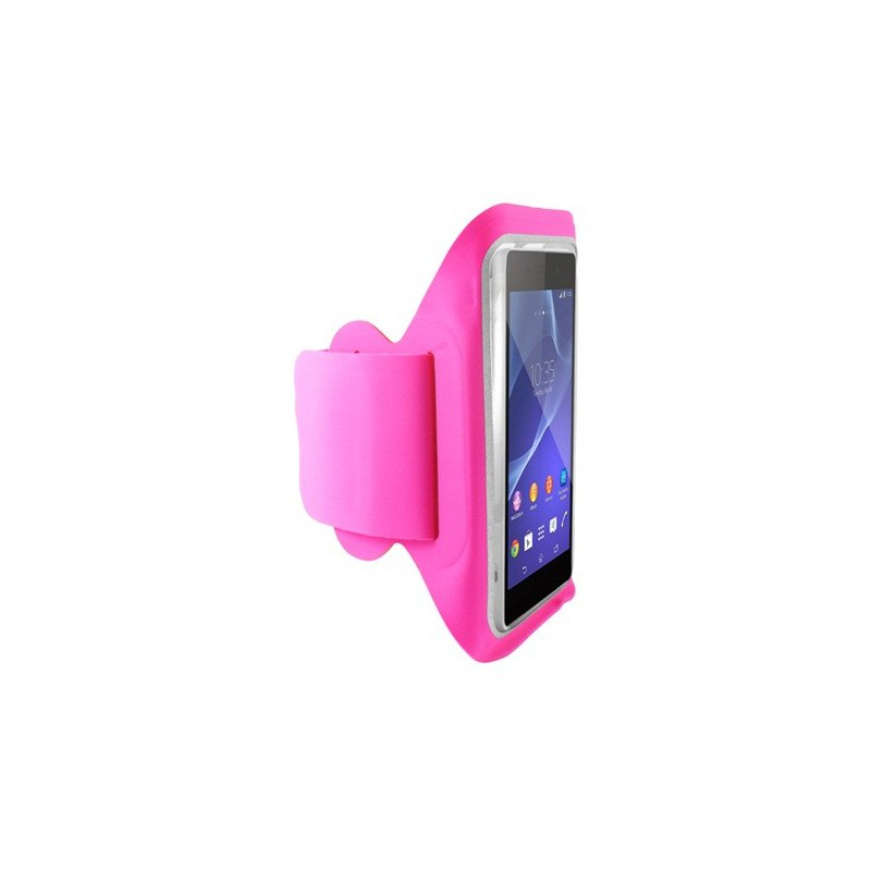 Brassard de sport Ksix pour Smartphone / Rose