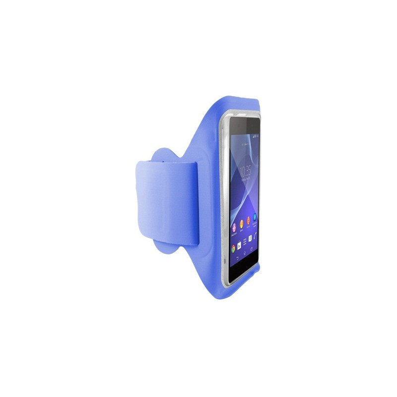 Brassard de sport Ksix pour Smartphone / Bleu