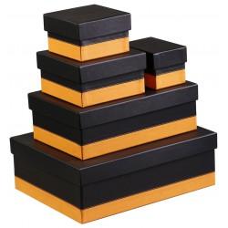 Set de 5 boîtes gigognes Rhodia