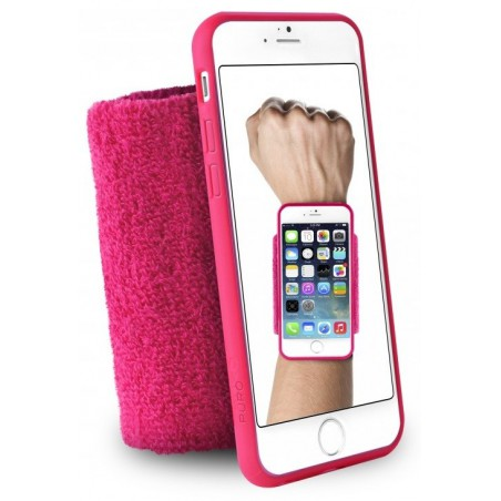 Brassard de poignet Puro pour iPhone 6/6s / Noir