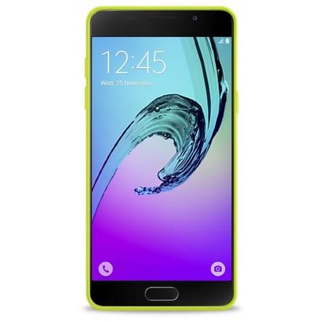 Coque en Silicone pour Samsung A7 2016 / Transparent