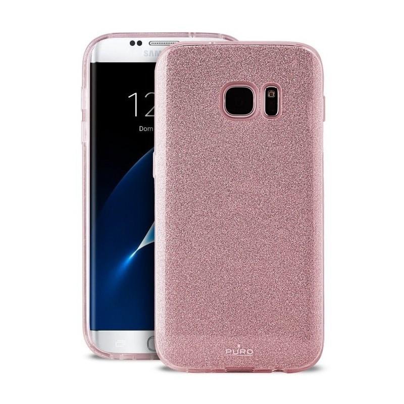 Coque Arrière Puro pour Samsung S7 Edge / Rose