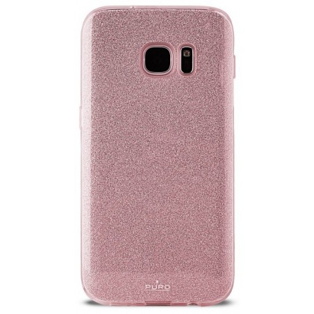 Coque Arrière Puro pour Samsung S7 Edge / Gold