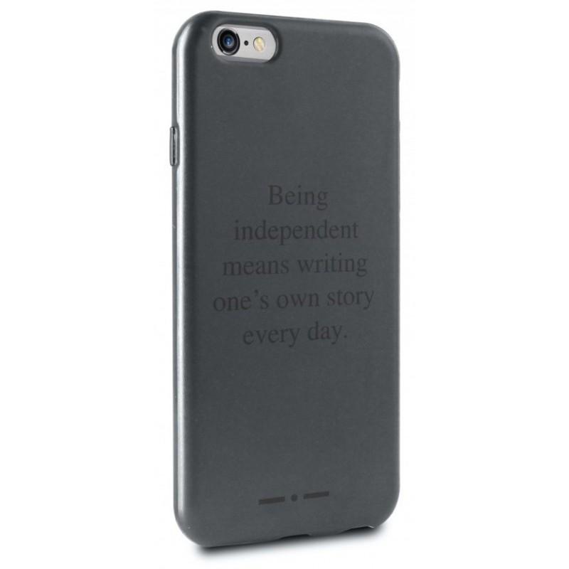 Coque Arrière Puro Claim pour iPhone 6 / Noir