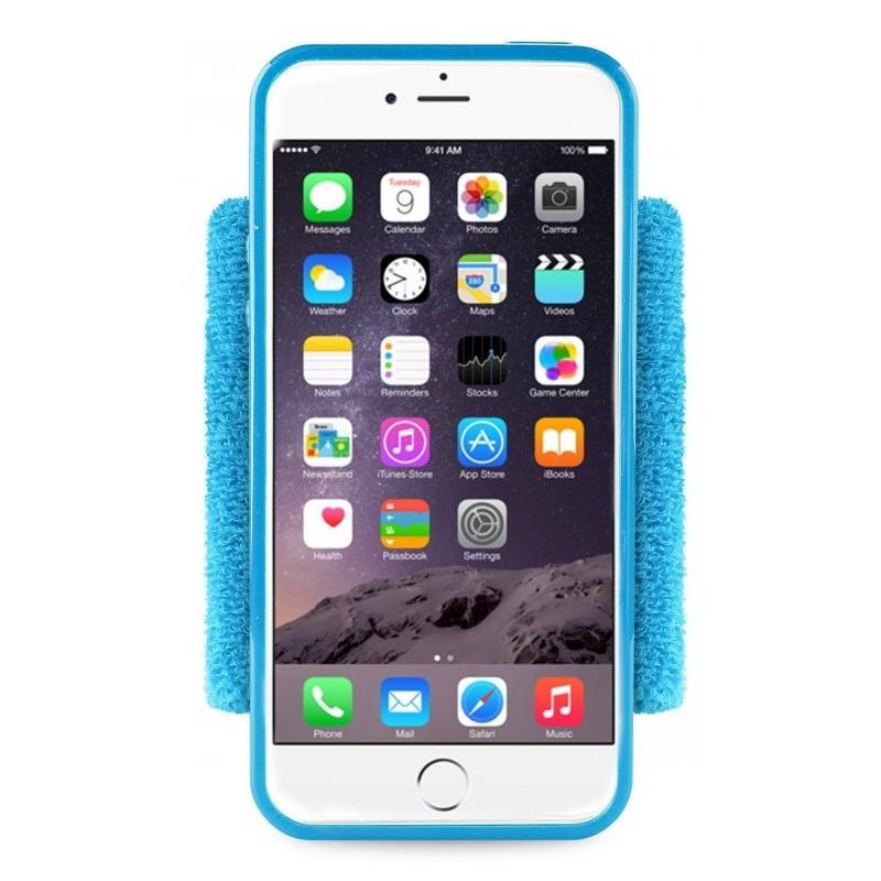 Brassard de poignet Puro pour iPhone 6/6s / Bleu
