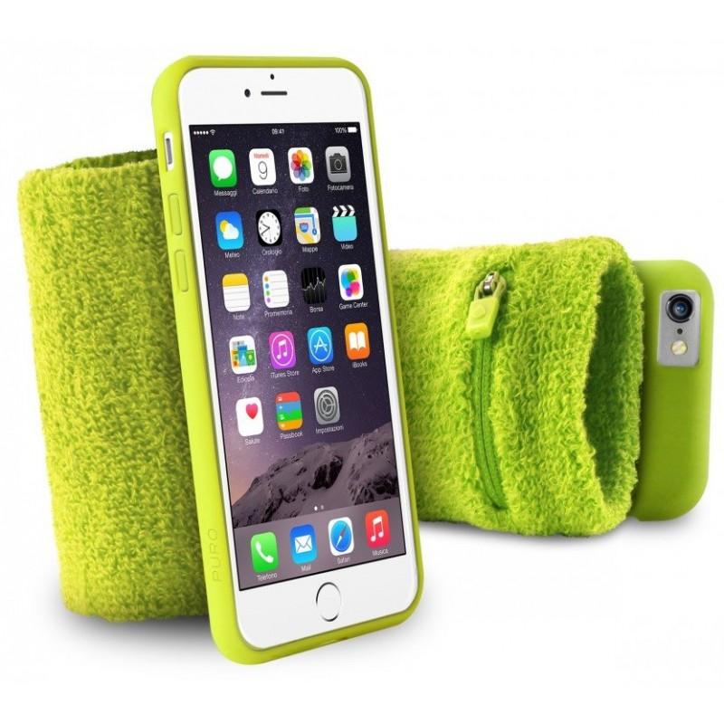 Brassard de poignet Puro pour iPhone 6/6s / Vert