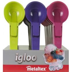 Portionneuse à glace en plastique Metaltex