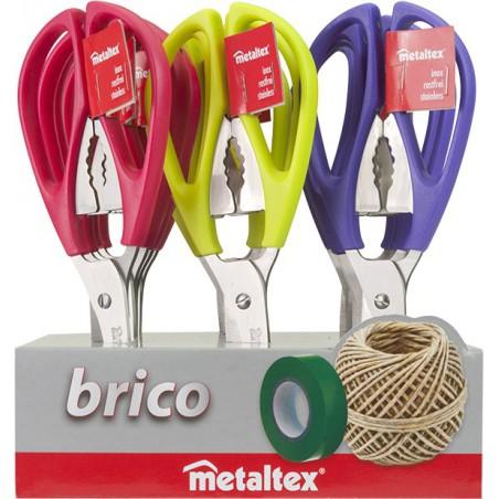 Ciseaux multi-usages Metaltex Brico