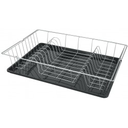 Égouttoir à vaisselle avec plateau Metaltex Colonia Plus