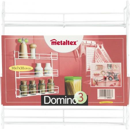 Etagère à épices 3 niveaux Metaltex Domino