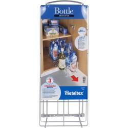 Range bouteilles coulissant Metaltex Bottle