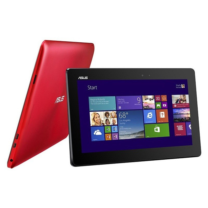 pc portable tablette asus transformer t100ta rouge. Black Bedroom Furniture Sets. Home Design Ideas